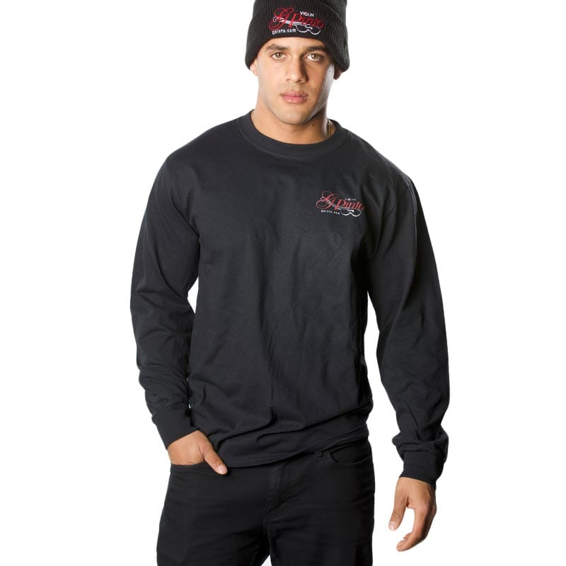 G Pinto Long-Sleeve T-Shirt - Black