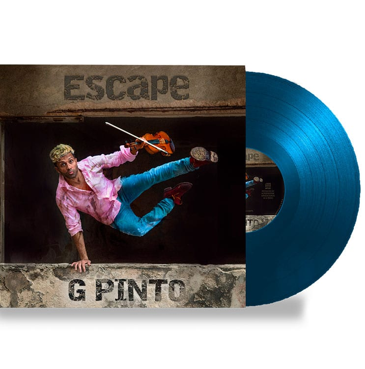 G Pinto - Escape Vinyl Cover