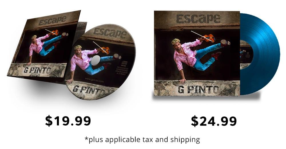 G Pinto - Escape Album