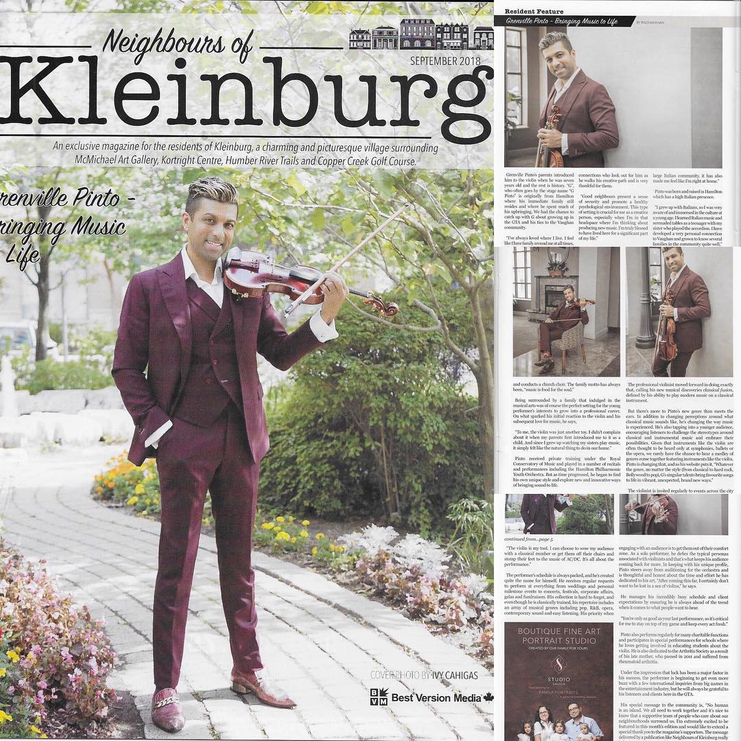 Neighbours of Kleinburg