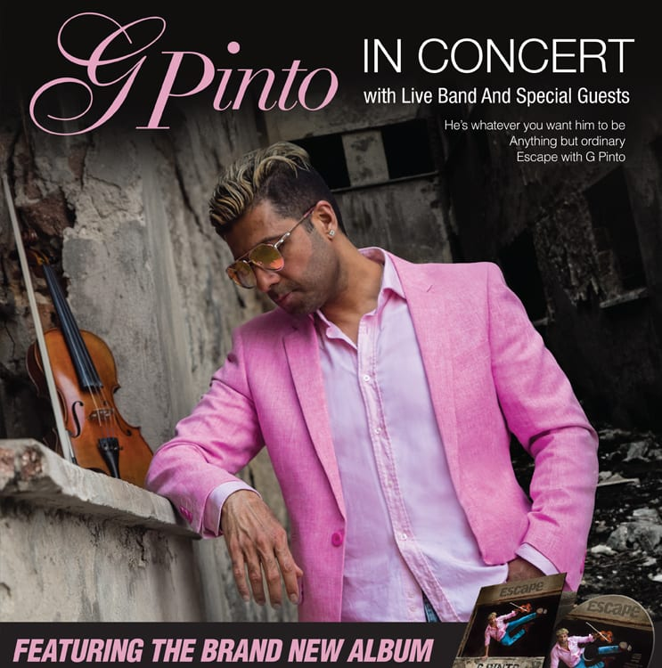 G Pinto Live In Concert - Toronto Show